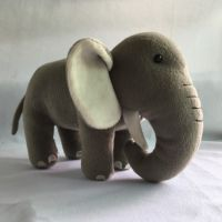 大象公仔 可爱造型 材质柔软 承接LOGO定制