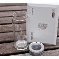 延安思宝玻璃杯专卖 高山流水经典款 商务会议杯西安定制印字