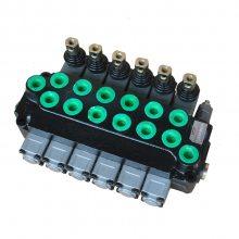 SKBTFLUID牌ZT-L12E-6OT-带拉杆系列随车起重机多路阀