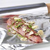 批发烧烤铝箔纸食品级烘焙用铝箔纸