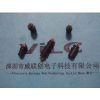 一套 焊线式 宝马插头+插座 黄铜 PBT黑胶 两件套