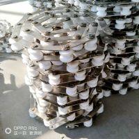 旋转小火锅输送链条生产厂家乾德 76.2双节距尼龙滚子链条批量定制