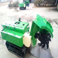 供应田园管理机果园大棚山地履带式多功能田园管理机