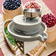 加厚磨盘豆浆电动石磨机 优质石材电动石磨豆腐机