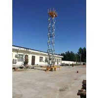 四川升降平台厂家 高空作业用 SJY-2t-8m型液压升降平台 剪叉式 亚重