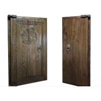 双开别墅实木大门 室内实木大门套装双开实木门