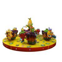 【水果派对儿童旋转游戏机 大型游乐设备 公园新款设备】