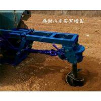 厚螺旋挖坑机 大型汽油钻眼机 拖拉机后悬挖坑机设备