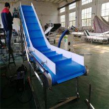 工厂直销输送机流水线传送带蓝色皮带转角机环形传送机自动化输送设备德隆非标定制