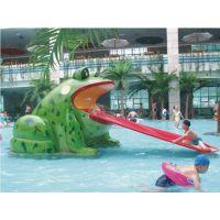 广州润乐水上设备-青蛙滑梯
