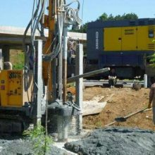钻井 溧水快速钻石头深水井 设备安装一体化服务