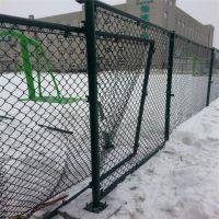 体育场 学校球场围栏 勾花网护栏 浸塑围栏 安平厂家直销