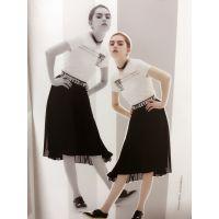 艾蜜雪17夏装精品女装批发速购欧美外贸服装批发多种款式时尚女装走份渠道
