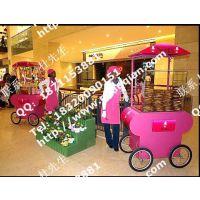 美式烧饼售卖车 浙江汉堡移动售卖车 迪尼斯可爱的售卖亭工厂