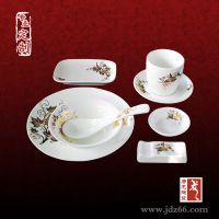西式餐厅餐具定制 供应酒店摆台餐具定做 景德镇千火陶瓷