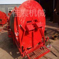 青海滚筒式药材挖掘机 防风药材收获机加工定做