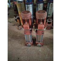 消防 多级 管道泵 边立式 XBD14.2/12.4-80L-350A厂家直销