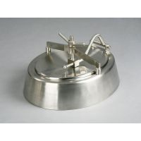 喇叭口人孔 不锈钢卫生级人孔盖 椭圆形人孔重力铸造