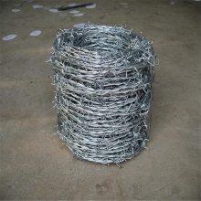 热镀锌铁线 带刺铁丝绳 耐腐蚀铁刺