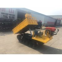 徐州中地小型履带运输车、水稻田运输车水利工程农田果园运输车
