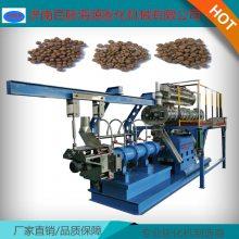 PHJ90S浮性饲料膨化机800~1000公斤鱼饲料水产饲料膨化机