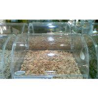 亚克力超市糖果食品盒子 透明有机玻璃散装干果盒 亚克力五谷杂粮盒子