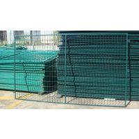 河南绿色圈地网/建筑工地护栏价格/果园铁丝护栏网厂
