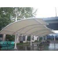 宣城膜结构车棚、景观膜钢结构工程
