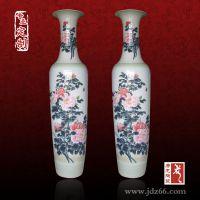 景德镇手绘陶瓷大花瓶,客厅落地大花瓶
