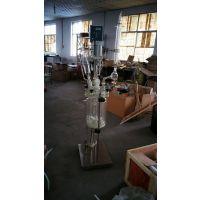 河北实验室乾正仪器10L双层玻璃反应釜高硼硅反应釜厂家生产信誉保证