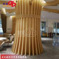 善禾建材异形铝方通幕墙 厂家直供北京弧形铝方通吊顶