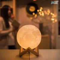 [星空之上]3D打印月球灯送亲戚,送朋友,送爱人,加照片刻字定制一个您专属的礼物