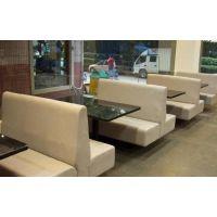 北京卡座沙发定制 卡座沙发定制厂家 餐厅卡座沙发定制