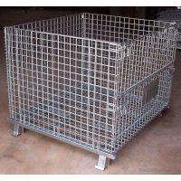 澳洋厂家供应热镀锌材质仓储笼、常规仓储笼定制、物流专用周转箱