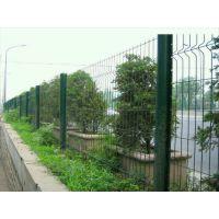广西高速防护网、小区隔离网、三角折弯护栏网、浸塑围栏网、润昂专业生产