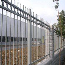 汕头小区烤漆栏杆采购 潮州别墅铁艺围栏定做 汕尾庭院锌钢栅栏安装