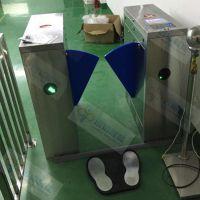 ESD防静电闸机 工厂智能门禁系统 远韬智能除静电翼闸