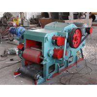 涿州郑科218鼓式木片机有皮带运输/震动给料两种送料装置