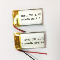 成人情趣性用品跳蛋电动玩具专用3.7V锂聚合物电池工厂