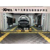 石家庄奔驰V260贴XPEL隐形车衣光亮如新