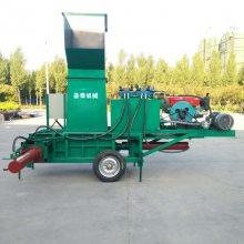 小麦秸秆粉碎压块机 新型秸秆压块机放心省心