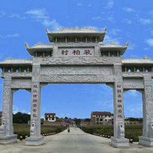 西藏牌坊样式,西藏自治区石头牌坊供应厂家--顺利石雕厂