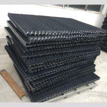 闭式塔收水器多少钱一平 PVC材质 可定制颜色纯黑色 河北华强