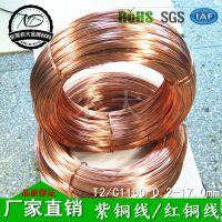 优质国标紫铜线 紫铜螺丝线 厂价直销