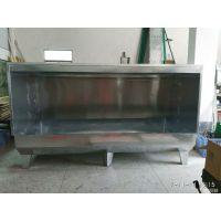 2.4米双工位水濂柜 不锈钢除尘柜 工业喷漆台水帘柜 规格可按要求定做锋易盛