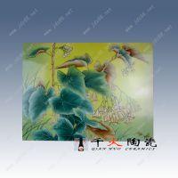 景德镇陶瓷童趣童真瓷板画定做现代卧室客厅装饰瓷壁画厂家