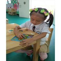 厂家直销幼儿园儿童双层学习课桌