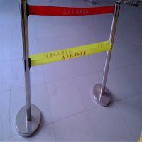 警示带式不锈钢伸缩围栏5五米双层隔离带