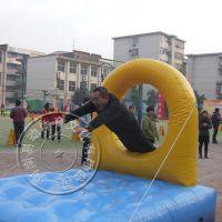 趣味充气障碍4件套 鱼跃龙门 网钻跨栏 多人接力赛运动会专用道具