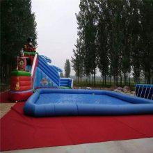 户外加厚充气水上滚筒球步行球跷跷板水上玩具水上乐园游乐设备